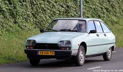 Citroën GSA Spécial 1982 (XBXG) Tags: 78hntn citroën gsa spécial 1982 citroëngsa gs green vert jade citromobile 2019 citro mobile carshow expo haarlemmermeer stelling vijfhuizen nederland holland netherlands paysbas youngtimer old classic french car auto automobile voiture ancienne française france frankrijk vehicle outdoor