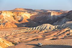 Take Your Time... (monorail_kz) Tags: israel bengurion negev desert canyon goldenhour viewpoint people car landscape nahalzin creek travel tourism sightseeing april 2019