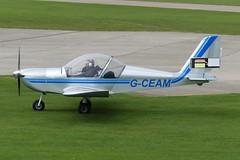 EV-97 Eurostar G-CEAM (Gavin Livsey) Tags: sywell eurostar ev97 gceam