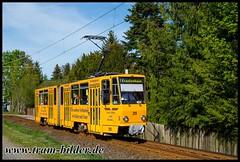 319-2019-04-25-3-Inselbergstraße (steffenhege) Tags: gotha thüringerwaldbahn überlandbahn strasenbahn streetcar tram tramway tatra kt4dc ckd 319