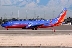 Southwest Airlines | Boeing 737-800 | N8619F | Las Vegas McCarran (Dennis HKG) Tags: aircraft airplane airport plane planespotting canon 7d 100400 lasvegas mccarran klas las southwest southwestairlines swa wn boeing 737 737800 boeing737 boeing737800 n8619f