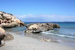sardegna (FrVi - Francesca Viganò) Tags: sardegna mare sea sand sky clouds day beach rocks island landscape nature italy