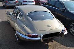 Jaguar Type e (Monde-Auto Passion Photos) Tags: voiture vehicule auto automobile jaguar type typee coupé sportive ancienne classique collection france fontainebleau
