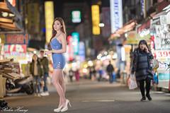 DSC_4885 (Robin Huang 35) Tags: 淡水區 新北市 中華民國 謝立琪 kiki 淡水老街 夜拍 人像 portrait lady girl nikon d850