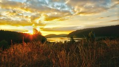 every morning should start like this (delta_whiskey) Tags: sunrise sunset dawn sky burningsky goldensky goldenhour sunriseoberlake
