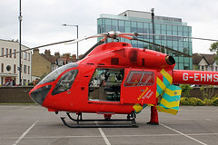 London's Air Ambulance in Wembley (kertappa) Tags: img0419 air ambulance londons london hems doctor paramedics hospital gehms emergency helicopter kertappa wembley