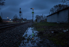 Blue Hour B&O (WillJordanPhoto) Tags: peirceville