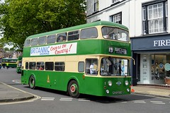 HOR592E (PD3.) Tags: leyland atlantean roe hor592e hor 592e bus buses psv pcv hampshire hants england uk fokab friends king alfred day winchester broadway cattle market station 2019