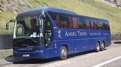 MX59KTL  Angel Tours, Wembley (highlandreiver) Tags: mx59ktl mx59 ktl angel tours wembley middlesex london neoplan tourliner bus coach coaches edinburgh
