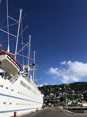 Wind Surf docked at Roseau, Dominica