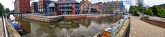 06 May 2019 Nottingham (36a) (AJ Yakstrangler) Tags: nottingham yakstrangler canal panorama