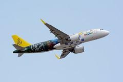 "Royal Brunei Airlines, Airbus A320-200neo, V8-RBD, NRT (masak2_ukon) Tags: narita 成田 airplanes tokura chibaken ""ú–{"