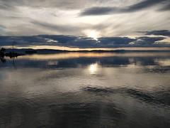 sunset lake champlain (LunchboxLarry) Tags: btv burlington vermont lakechamplain summer may 802life