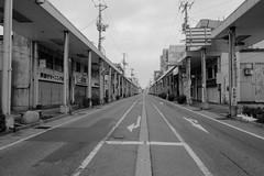 Shinjo 5 (peaceblaster9) Tags: town street yamagata japan sony rx100m3 blackandwhite bnw bw blackwhite 新庄 山形 モノクローム 白黒 shinjo