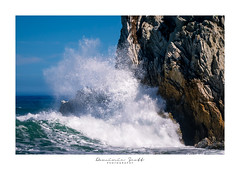 Splash! (Dominic Scott Photography) Tags: dominicscott newzealand wairarapa white rock wave waves sea ocean sony ilce7rm3 sel2470gm gmaster