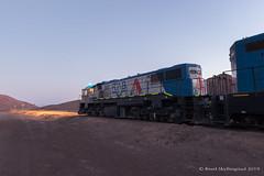 Cumbre Summit (Reed Skyllingstad) Tags: 1420 2007 antofagasta chile clydeengineeringgl26c2 color cumbre cumbresummit desert emd emdnf210 electromotivediesel fcab fcab1420 fcab2007 ferrocarrildeantofagastaabolivia gl262c nf210 narrowgauge outdoors outside railroad railway sunny timeexposure tracks train