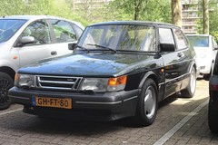 Saab 900 2.0 S 16v 1-4-1993 GH-FT-80 (Fuego 81) Tags: saab 900 classic 1993 ghft80 onk sidecode5