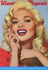 Jayne Mansfield - Wiener Magazin (poedie1984) Tags: jayne mansfield vera palmer blonde old hollywood bombshell vintage babe pin up actress beautiful model beauty hot girl woman classic sex symbol movie movies star glamour girls icon sexy cute body bomb 50s 60s famous film kino celebrities pink rose filmstar filmster diva superstar amazing wonderful photo picture american love goddess mannequin black white mooi tribute blond sweater cine cinema screen gorgeous legendary iconic magazine covers color colors wiener magazin lippenstift lipstick oorbellen earrings