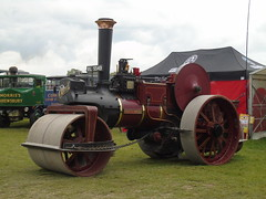 DSC08045 (stevenjeremy25) Tags: abbey hill abbeyhill steam rally yeovil traction engine 2019 burrell roller 4060 pride newquay rl5549