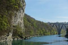 Walk along the Rhône @ Hike to Le Vuache (*_*) Tags: randonnee nature montagne mountain hiking walk marche 2019 printemps spring april jura vuache savoie europe france ain leaz river rhone