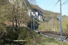 Train tracks @ Hike to Le Vuache (*_*) Tags: randonnee nature montagne mountain hiking walk marche 2019 printemps spring april jura vuache europe france ain leaz 01