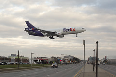 Fedex over Airport Rd. (CJ Burnell) Tags: 416 6ixwalks blogto canadianphotographer cjbphotography fedex instagramcjbphotography1 livinginthe6ix photographer photography the6ix torontoclicks torontoguardian torontophoto torontophotograoher torontophotographer torontostar views