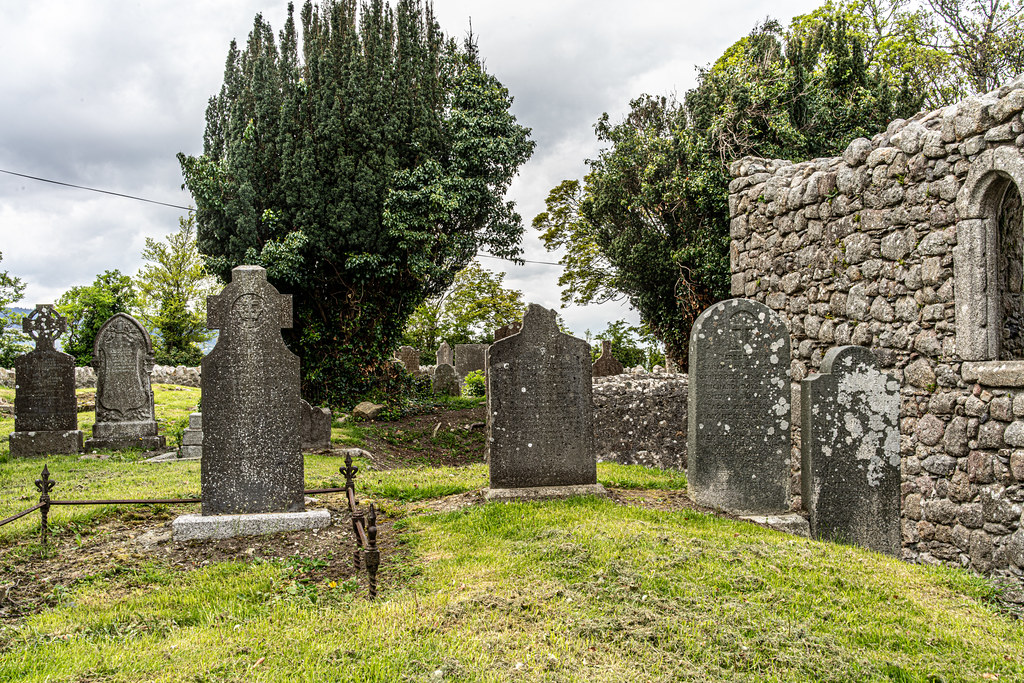 TULLY CHURCH AND CHURCHYARD [LEHAUNSTOWN LANE DUBLIN]-152348