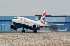 G-GFFG (PlanePixNase) Tags: aircraft airport planespotting haj eddv hannover langenhagen britishairways british boeing 737500 b735