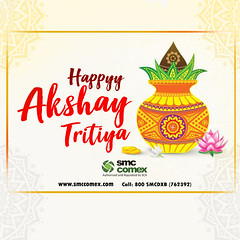 Happy Akshay Tritiya from SMC Comex Dubai (smccomex) Tags: