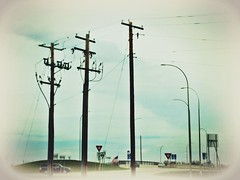 rule of thirds? (novice09) Tags: poles wires ipiccy photoscape htt telegraphtuesday