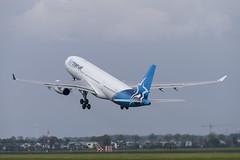 C-GTSN Airbus A330-243 (3) (Disktoaster) Tags: eham ams schiphol airport flugzeug aircraft palnespotting aviation plane spotting spotter airplane pentaxk1