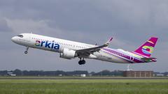 4X-AGH Airbus A321-251NX (Disktoaster) Tags: eham ams schiphol airport flugzeug aircraft palnespotting aviation plane spotting spotter airplane pentaxk1