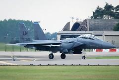 Lakenheath F-15E 91-0303 (Craig S Martin) Tags: usafe boeing f15e strike eagle 910303 raf lakenheath strikeeagle raflakenheath aviation airplane aircraft military jet usaf