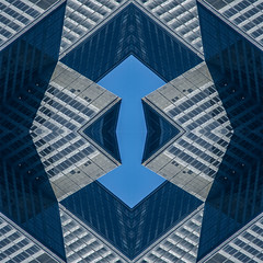 (jfre81) Tags: chicago sears willis tower abstract design pattern texture mirrored folded kaleidoscope urban city 312 james fremont photography jfre81 canon rebel xs eos