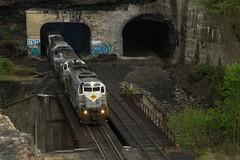 PO-75 - Nay Aug (Eric_Freas) Tags: delaware lackawanna railroad dl alco alcos nay aug tunnel scranton pennsylvania pa po75