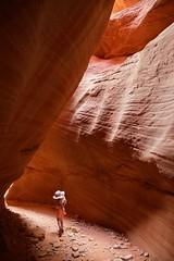 Windswept (jklina) Tags: slot canyon slotcanyon desert light stone