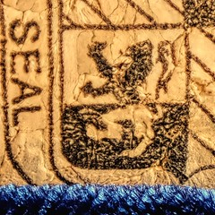 Cork Art (clarkcg photography) Tags: macro cork art symbols uk shield seal winecork
