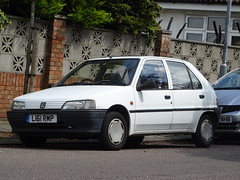 1994 Peugeot 106 XR (Neil's classics) Tags: vehicle 1994 peugeot 106 xr 1124cc car