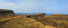 The Land Slip (Matt Champlin) Tags: scotland quiraing landslip beautiful adventure hike hiking skye isleofskye travel spring springtime canon 2019 uk europe geology incredible sunny nature outdoors holiday