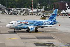 Rossiya Airbus A319-111 VQ-BAS FC Zenit St. Petersburg livery (EK056) Tags: rossiya airbus a319111 vqbas fc zenit st petersburg livery düsseldorf airport