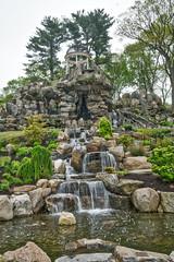 Rock Garden (JMS2) Tags: garden rockgarden gazebo waterfall scenic untermyer yonkers landscape
