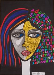 Original art Israel woman painter Mirit Ben-Nun (female art work) Tags: woman israeli artist ilustration ilustrate painter women painting