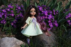 4H5A5371 (Yumi♡) Tags: bjd doll garden yumistudio spring flowers glacedolls 2019 yellowdress