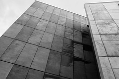 Cape Town Waterfront (Tom Reville) Tags: architecture bw blackandwhite capetown honeymoon southafrica abstract africa african art background building cape city contemporary design desktop editorial exhibition grain landmark mocaa modern monochrome museum pattern photography silo south tourism town travel urban wallpaper waterfront zeitz