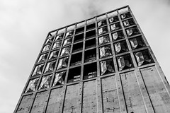 Cape Town Waterfront (Tom Reville) Tags: architecture bw blackandwhite capetown honeymoon southafrica abstract africa african art background brutalism building cape city contemporary design desktop editorial exhibition grain landmark mocaa modern monochrome museum pattern photography silo south tourism town travel urban wallpaper waterfront zeitz