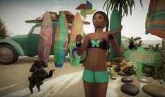 Pinwheel Keep On Turning! 🎶 (K Kimani!) Tags: sl summer beach pinwheel poodle tweenster fun toucan jian tropical kanaloa