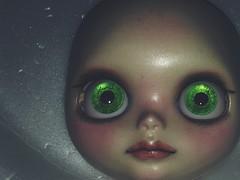 Blythe Nabella in Progress (Josie&theKILLER_DOLLS) Tags: 2019 ooak eyes green nabella natural realistic bait rbl wip progress custom doll blythe
