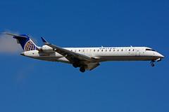 N168GJ (United Express - GoJet Airlines) (Steelhead 2010) Tags: unitedexpress unitedairlines gojetairlines bombardier crj700 crj yyz nreg n168gj