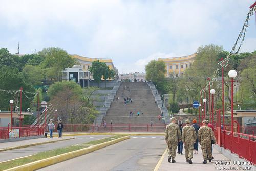 Потьомкінські сходи, Одеса, травень 2019 InterNetri Ukraine 320