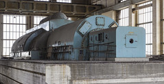 Close encounter. (Left in the Lurch) Tags: urbex abandoned power plant turbine